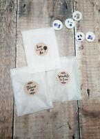 Wedding Confetti Glassine Bags & stickers For Wedding Confetti - throwing bag