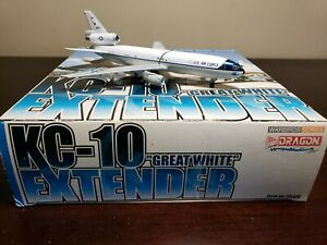"""Dragon Wings 1/400 KC-10 Extender """"Great White"""" Complete USAF Diecast"""