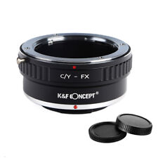 K&F Concept adapter for Contax Yashica mount lens to Fujifilm X-T10 X-Pro2 camer