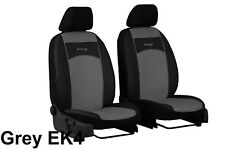 """NISSAN NV200 2010 ONWARDS ECO LEATHER """"TUNING"""" FRONT UNIVERSAL SEAT COVERS"""