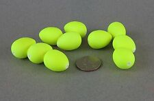 10 Pack Beau Mac Cheaters Size #4 Chartreuse Yellow CH4-16 Fly Strike Indicator