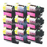 9 MAGENTA New LC103 LC103XL LC103 for Brother LC-103 LC101 LC 103 LC101M LC103M