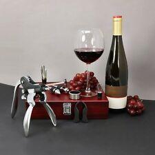 Wein-geschenkset 10tlg. In Holzbox 4034127162583