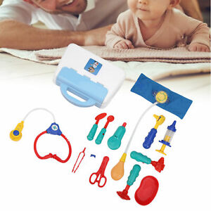 13pcs Kids Pretend Toy Kit Children Play Doctor Kit Playset Game Toys Gifts