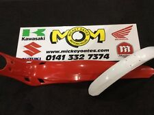 Montesea 4rt Mudguards (Red Rear & White Front..No Decals)