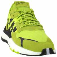adidas Nite Jogger Mens  Sneakers Shoes Casual   - Yellow - Size 11 D