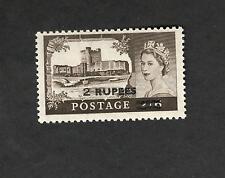 Oman SC #63  QE II  2 Rupees  Carrickfergus Castle MNH stamp