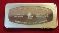 CASED SINGAPORE AIRLINES SILVER INGOT