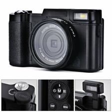 Digital Camera 24MP 1080P FHD Video Vlogging Camera for YouTube 30FPS 3.0