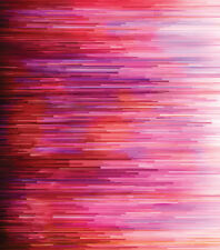 Moda Fabric - Gradients - Digital Fragmented Stripe - Pink - Multiple Sizes