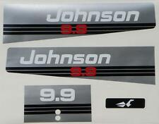 Johnson Outboard Hood Decals 9.9/15 hp 1993-1995