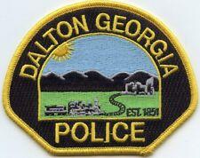 DALTON GEORGIA GA POLICE PATCH