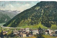 AK aus Mallnitz mit Ankogel, Tauernbahn, Kärnten   (A6)
