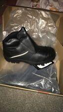 Goliath Saftey Work Boots Black Velcro Steel Toe Shock Absorber 10