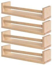 Ikea bekvam 4 x De madera Especieros Vivero, bookholder, Niños Estante, cocina NUEVO