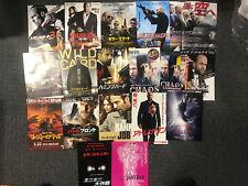 Jason Statham Japan flyer x18! PARKER Chaos SAFE Bank Job CRANK Wild Card more!!