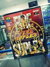 FIRE SUPLEX NEO GEO AES VERSION JAPONAISE