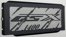 cache / Grille de radiateur inox poli Suzuki 1400 GSX Eclair noir +grillage alu