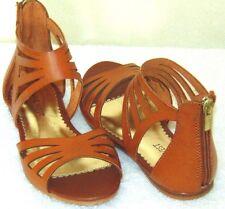 Girls Nine West Scarlet GP Sandals  Brown  Size: 1