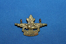 "Post WW2 Canadian ""Air Cadets Canada"" Metal Cap Insignia Badge"