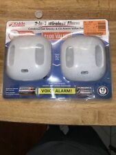 Kidde 2-in-1 Wireless Alarm Combination Smoke & Co With Voice Alarm New In Box