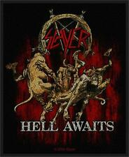 SLAYER - HELL AWAITS PATCH - BRAND NEW - MUSIC BAND 2417