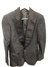 Pierre Cardin Black Mens Suit Coat Tuxedo Size 36 R