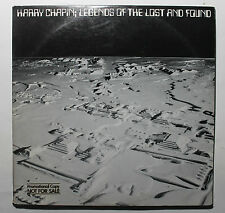 HARRY CHAPIN Legends Of The Lost & Found Elektra BB-703 1979 US VG++ GSP 2G