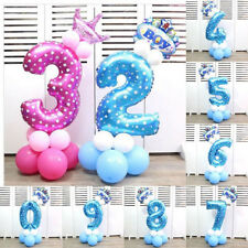 32 Inch Ballons Foil Helium Number Cute Birthday Party Xmas Outdoor Decor
