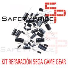 Kit reparación Sega Game Gear repair kit condensadores capacitors Full Kit