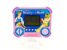 New ListingVintage Tiger Electronics Disney's Beauty and the Beast Handheld Game 1990 Works