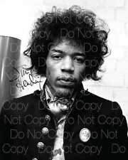 Jimi Hendrix signed guitarist guitar 8X10 photo picture poster autograph RP