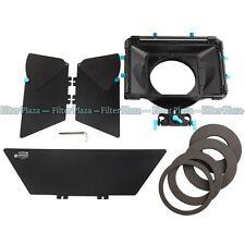 FOTGA DP3000 PRO Sunshade Matte Box for 15mm Rod DSLR Rail Rig +Universal Donuts