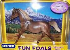 Breyer Model Horses Dark Dapple Chestnut Running Horse