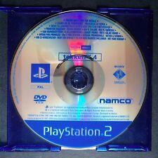 promo TEKKEN 4 PlayStation 2 UK PAL English・♔・pre-release full game NAMCO PS2