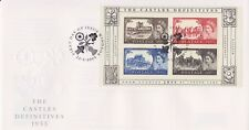 UNADDRESSED GB ROYAL MAIL FDC 2005 CASTLE DEFINITIVES MINIATURE SHEET MS WINDSOR