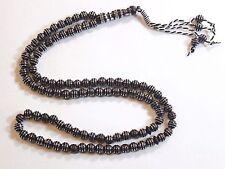 New Tasbih Prayer (99) Beads Misbaha Tasbeeh Sebha - Brown Color Masbaha # 47