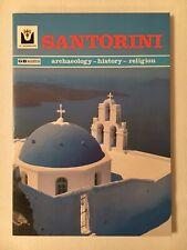 Santorini Archaeology History Religion Book Travel Color Photographs Paperback