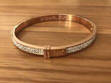 Michael Kors Bracelet Rose Gold Diamonds  Bangle , Come With MK Pouch