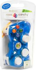 PDP Rock Candy Xbox 360 Wired Game Contoller Blueberry Boom Blue