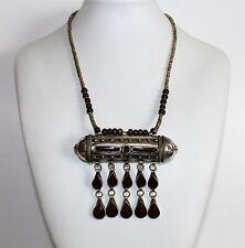 Nomaden-Halskette Tribalkette Prayer-Box-Halskette Tribalschmuck Nomadenschmuck
