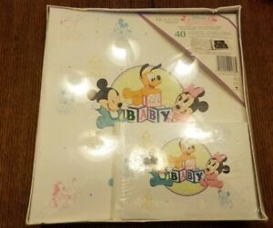 Mickey & Minnie Photo Album Disney Holson Baby Photo Album NEW SEALED