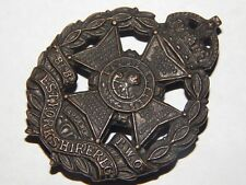 Vintage UK British Military West Yorkshire Cap Hat Badge Pin