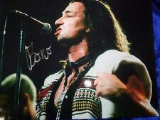 U2 BONO Hand Signed 8'x10 Photo + COA