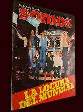 FIFA WORLD CUP 1978 Final Match Rare SOMOS Magazine