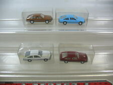 l43-0, 5 #4x Wiking H0 Models / Model Cars, Opel Monza , Top
