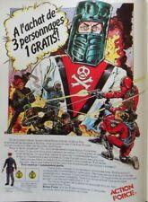 Publicité de presse (clipping) - figurines Action Force