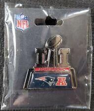 Superbowl 51 Pin NFL Collectible Souvenir New England Patriots Atlanta Falcons
