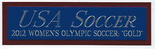 2012 OLYMPIC TEAM USA SOCCER NAMEPLATE FOR AUTOGRAPHED Signed BALL-PHOTO-JERSEY