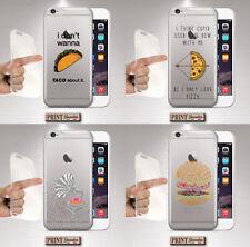 Cover für , IPHONE, Skin Food, Silikon, Weiche, Fast Transparent, Kringel, Sätze
